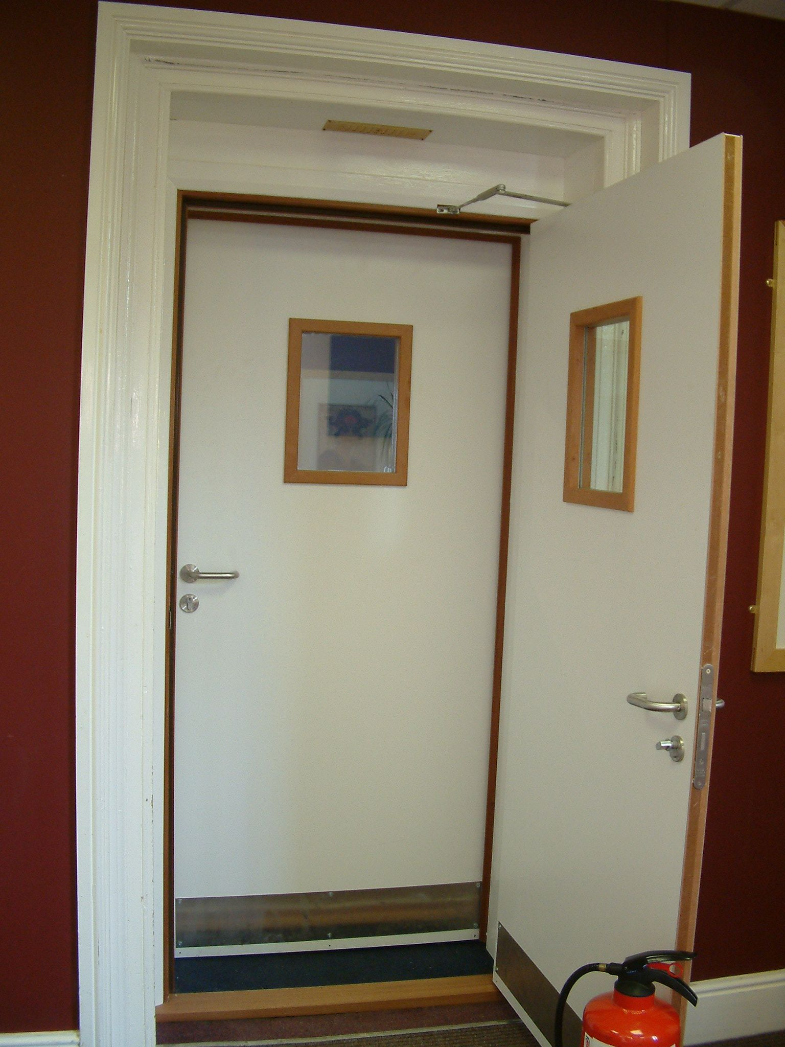 Soundproof door construction - Find This Pin And More On Soundproof Doors