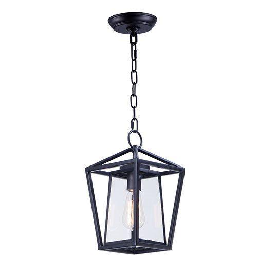 Hang Blinds Outside Window Frame: Maxim Artisan-Outdoor Hanging Lantern - 3179CLBK