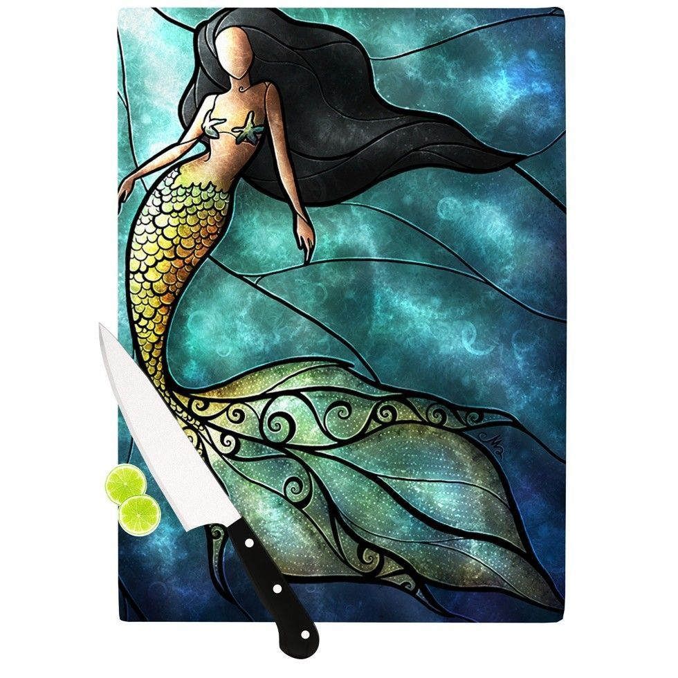 Mermaid Cutting Board   Products   Pinterest   Products