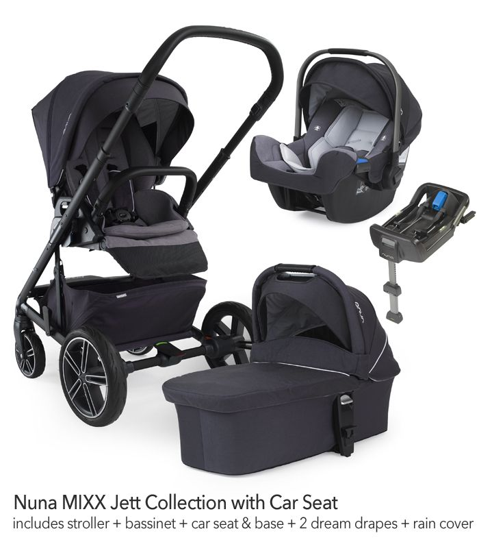 nuna mixx jett stroller bassinet pipa jett car seat car seat base includes stroller. Black Bedroom Furniture Sets. Home Design Ideas