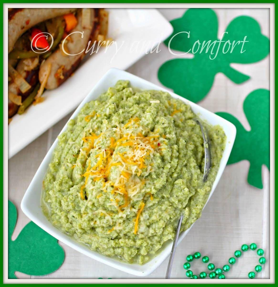 Broccoli and cauliflower mash low carb recipe yummly