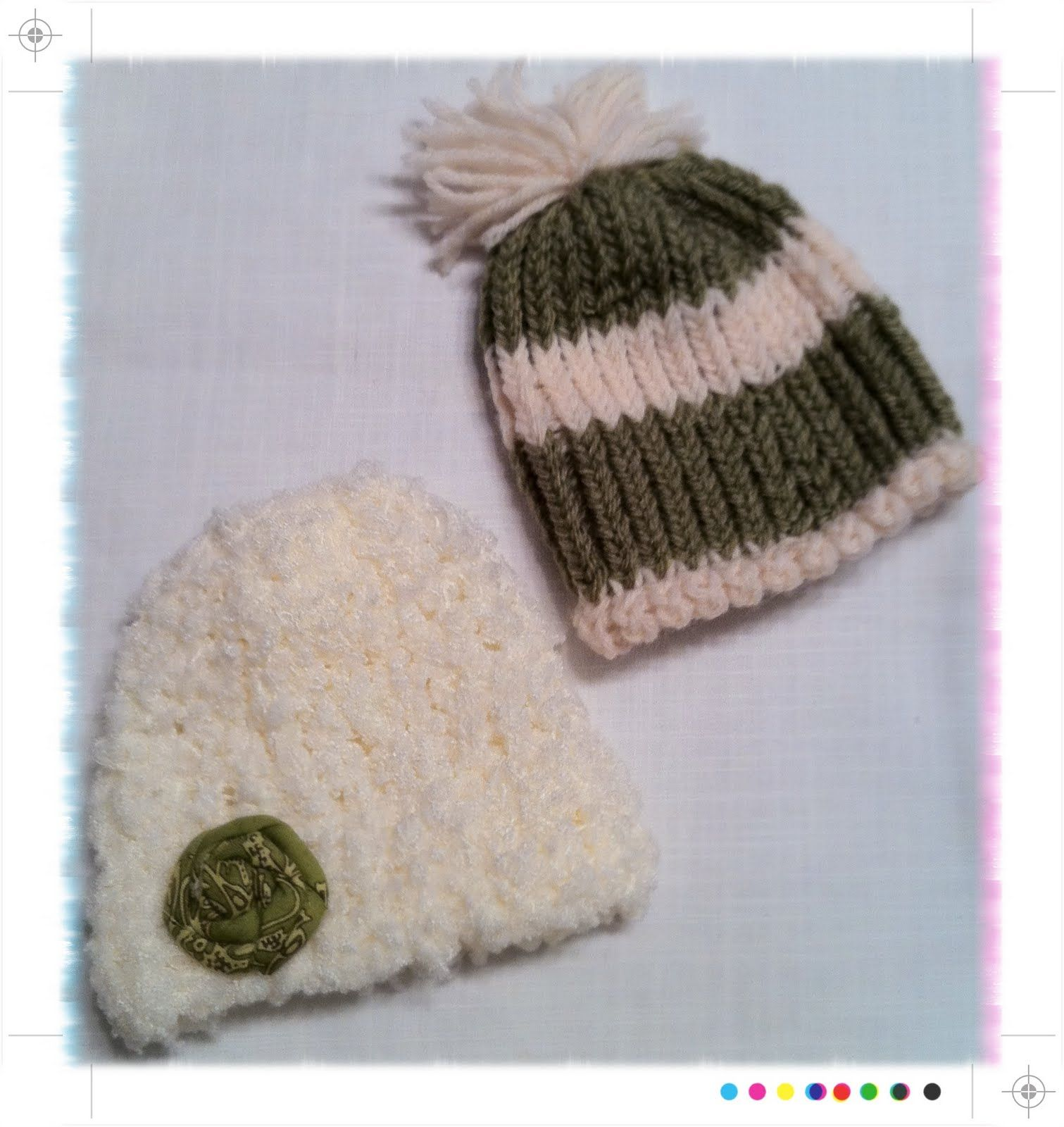 how to make a beanie with a loom