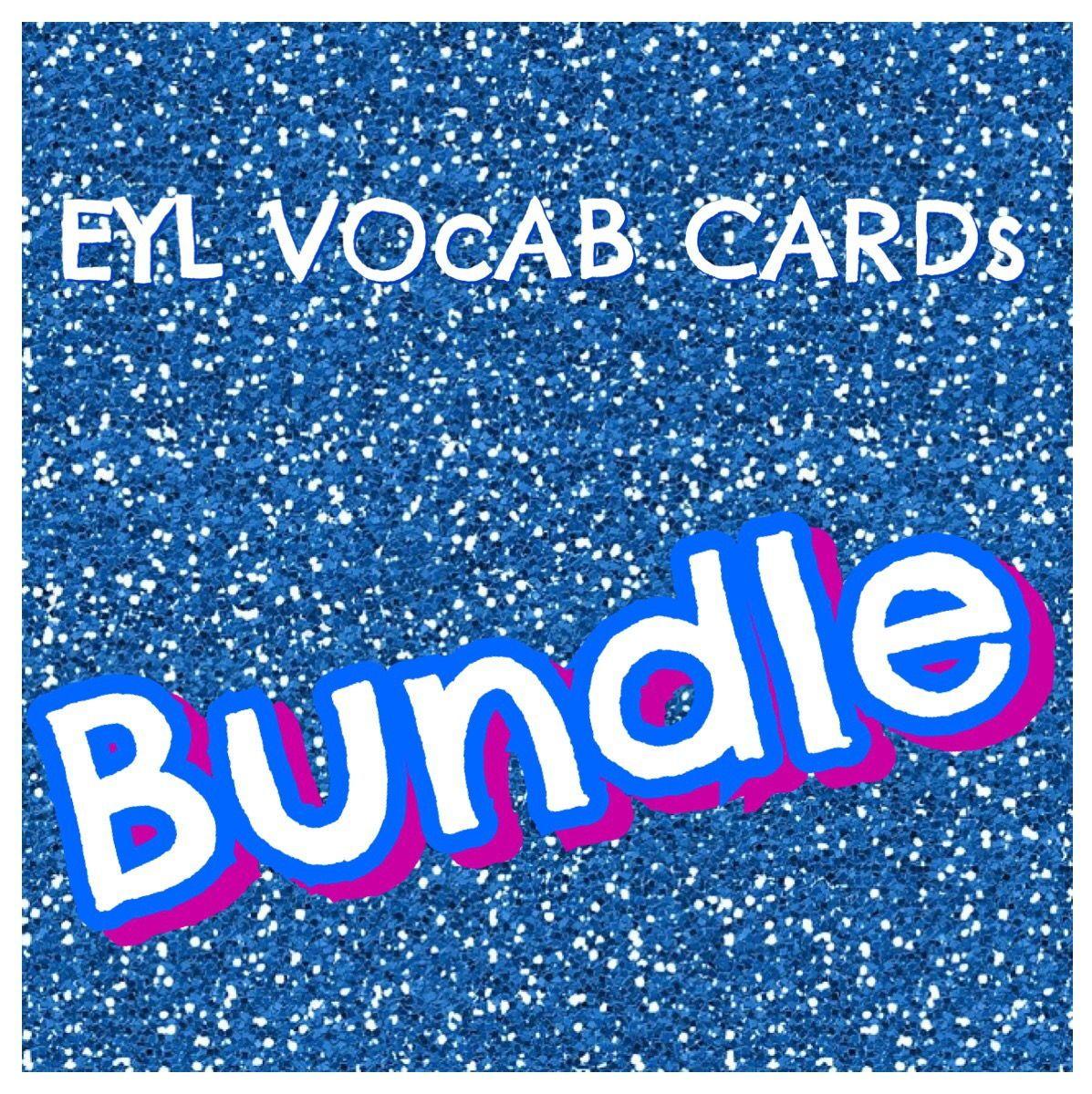 Eyl Vocabulary Bundle