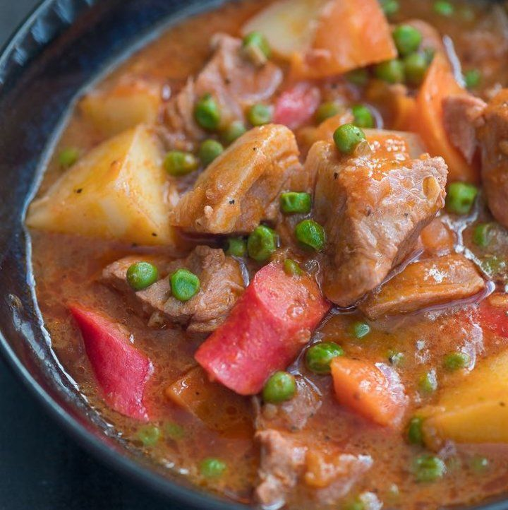 Afritadang Baboy Panlasang Pinoy | Pork afritada recipe ...