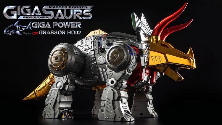 Transformers Toy Gigapower GP HQ-02R Grassor Slag Master Robots In Stock
