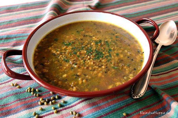 Mungbohnensuppe (Kleinstadthippie Vegan -Blog möchte inspirieren ...