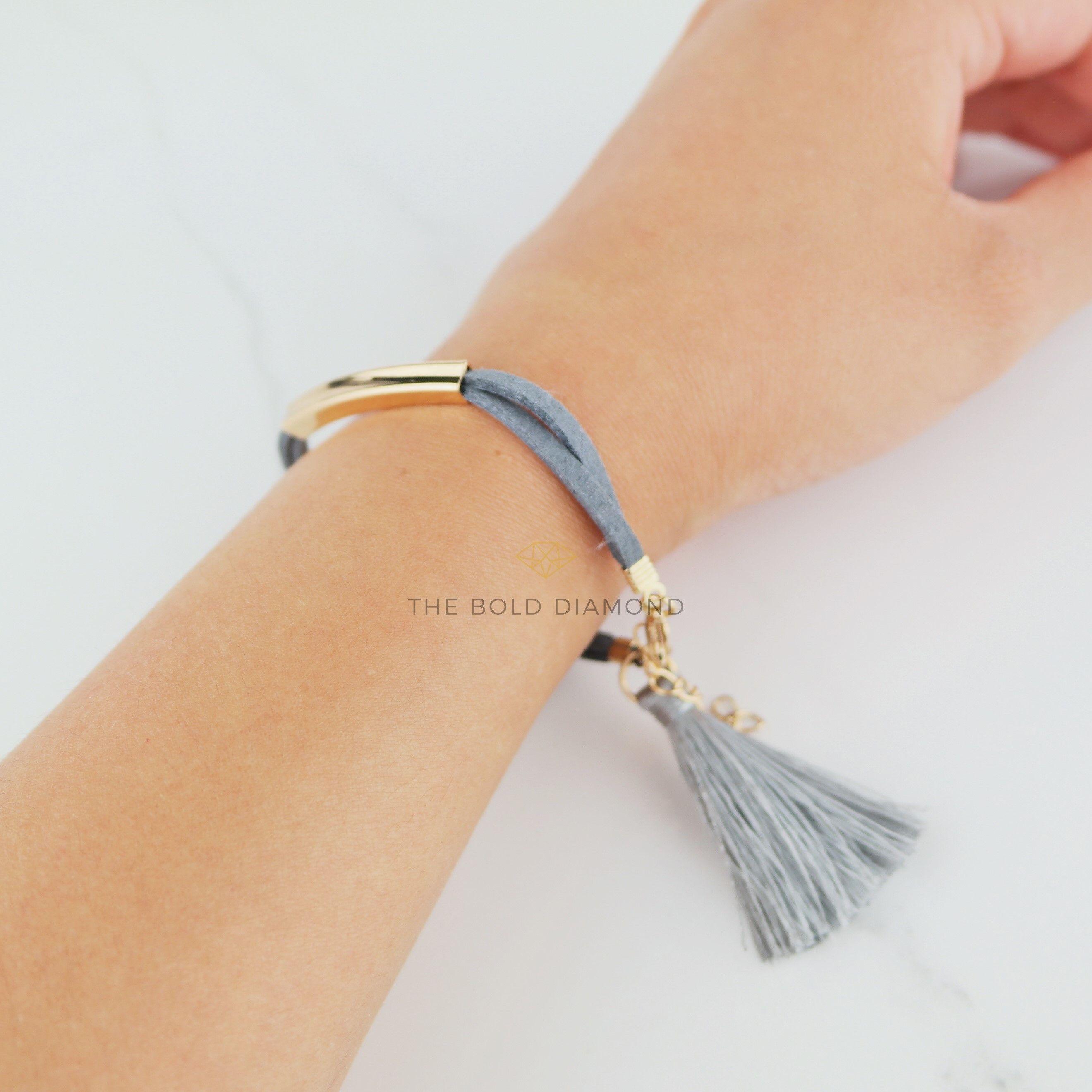 Tassel Velvet Bracelet