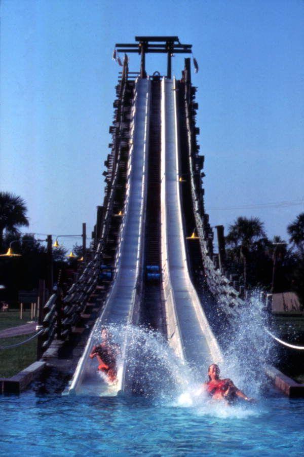 Water Slide At The Adventure Island Amusement Park Tampa Florida Water Slides Islands Of Adventure Water Park