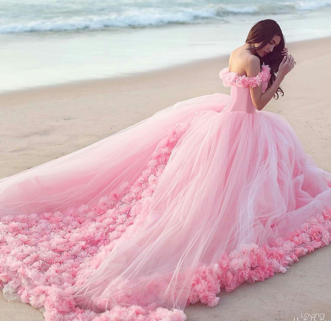 Pink gown aestethic di pinterest dresses gowns dan prom