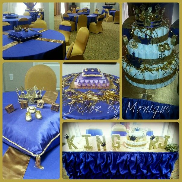 Royal King Theme Baby Shower Decor By Mlg Event Draping And