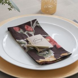 For your thanksgiving table, mini 'thankful' notebook tutorial with free printable!