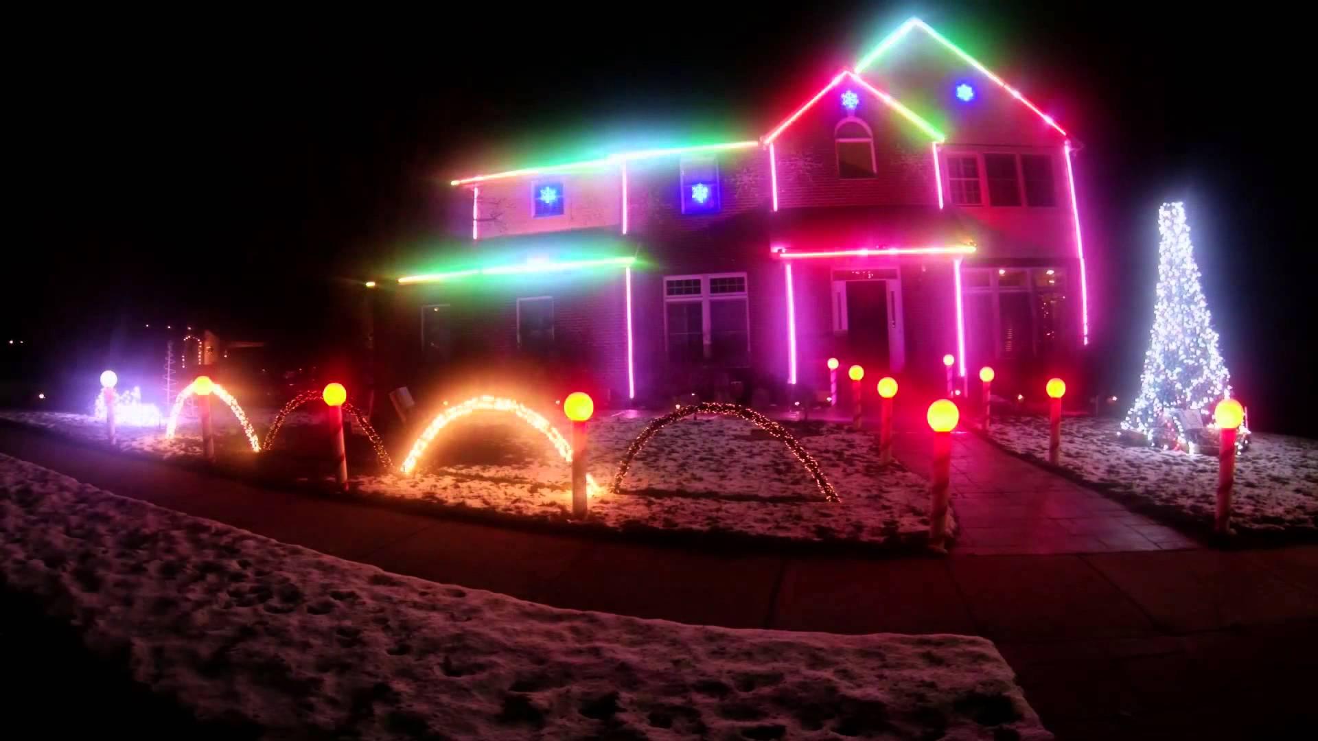 2013 Christmas Light Show Christmas Vacation Christmas