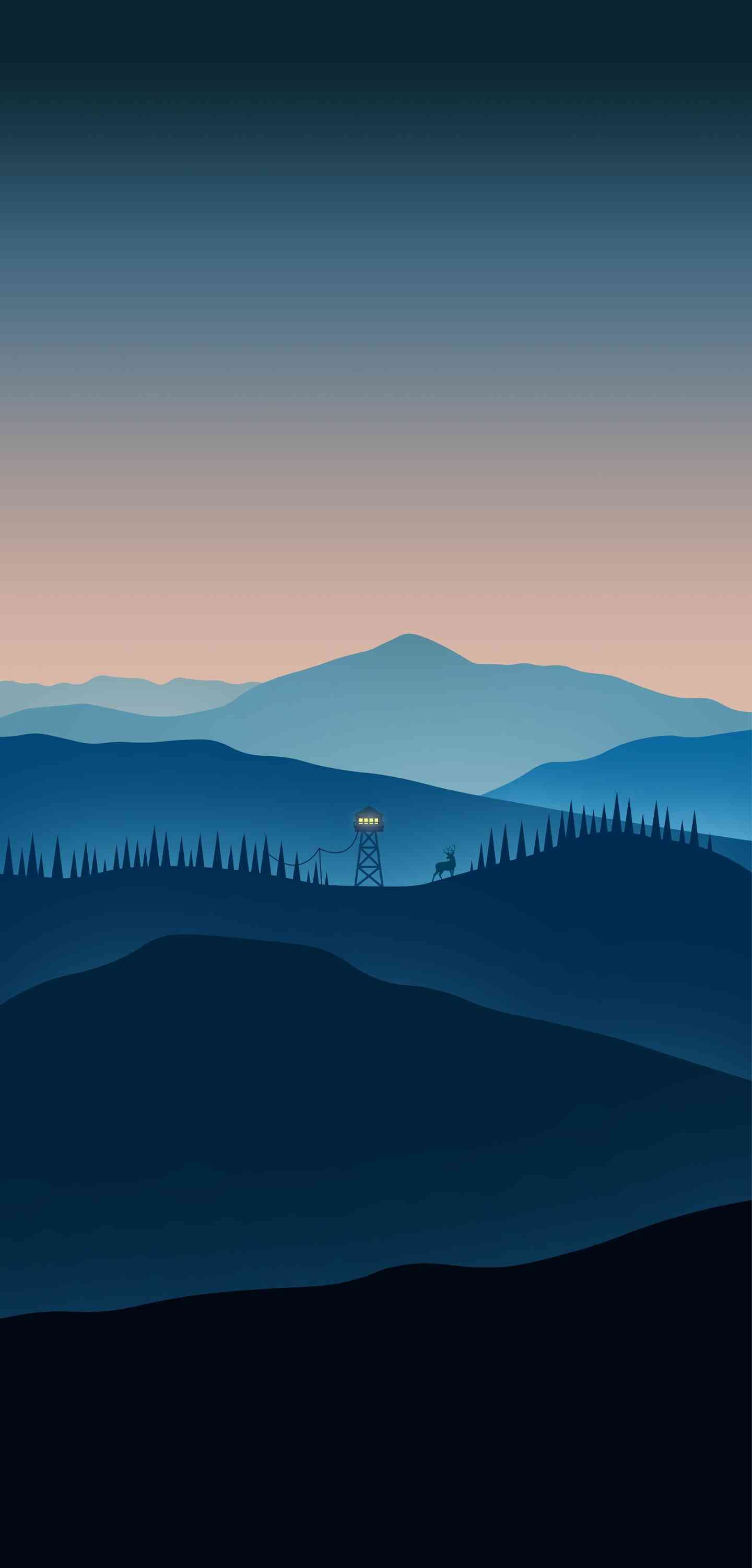 Firewatch Minimalistic Iphone Wallpaper Mkbhd Wallpapers Ipad Air Wallpaper Scenery Wallpaper