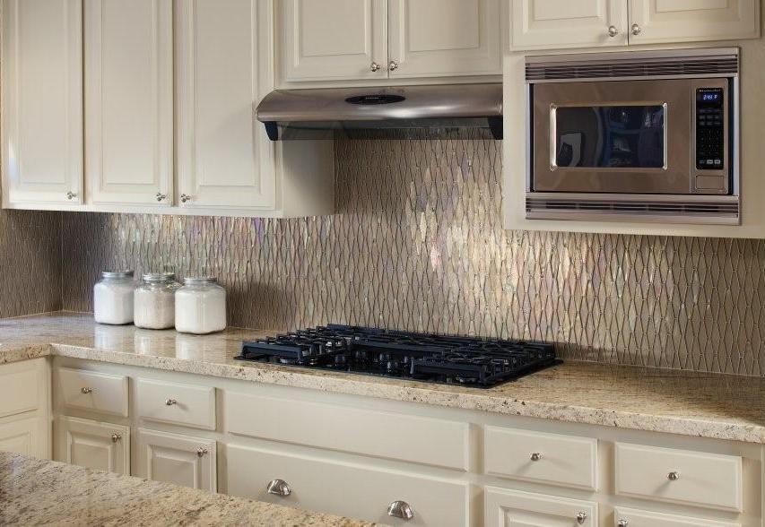 Unique Kitchen Backsplash Ideas For Remarkable Home Interior Design. Modern  Mid Century Kitchen Interior Design Ideas In Neutral Color Scheme Feats  Hanging ...