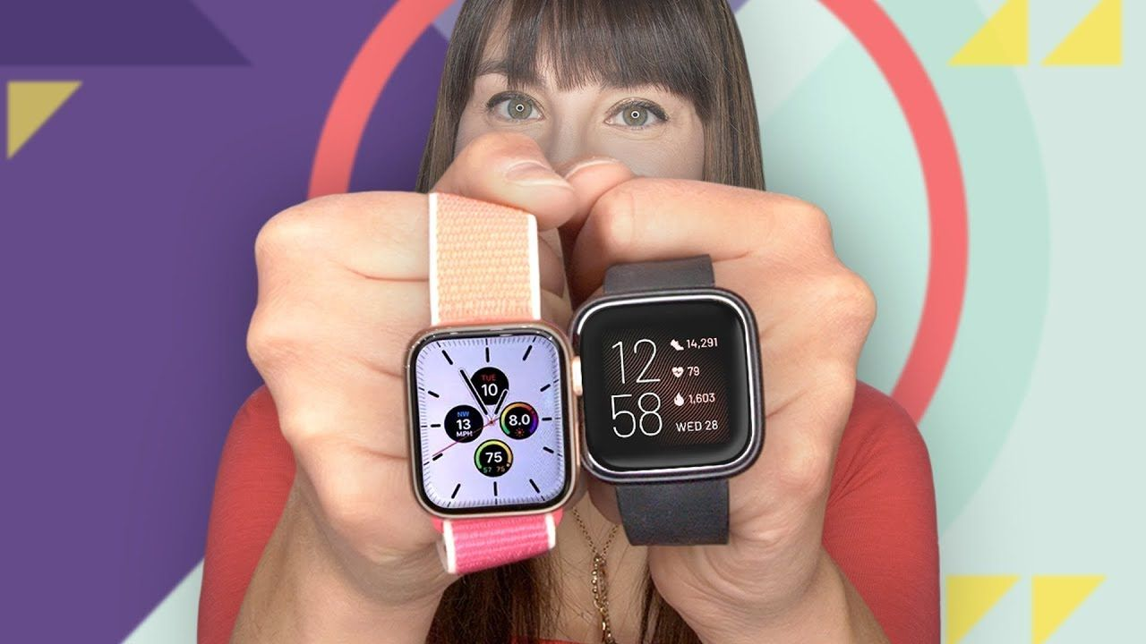 Apple Watch Series 5 vs. Fitbit Versa 2 Apple watch vs