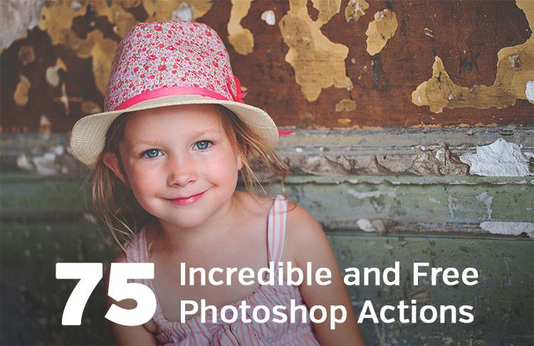 75 Incredible and Free Photoshop Actions | Click it Up a
