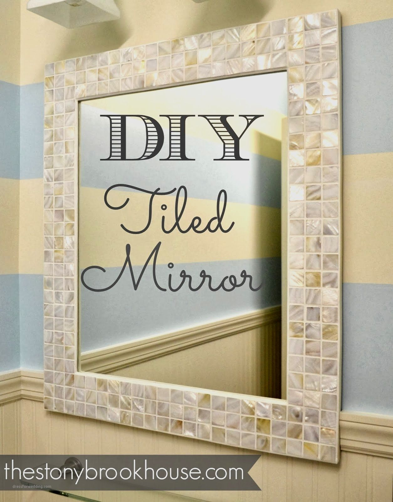 12 Lovely How to Make A Mosaic Mirror Frame | Mosaic Mirror Frame ...