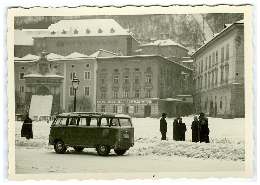 VW typ 2 Samba pre 1954