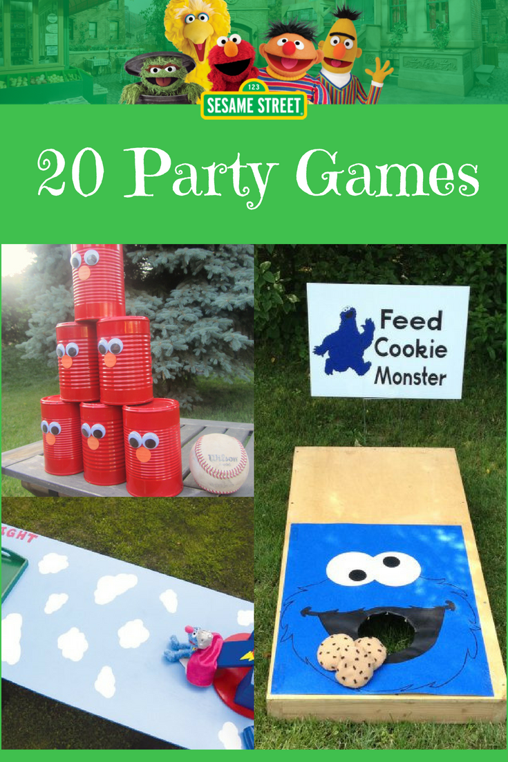 Photo of 20 Sesamstraßen-Partyspiele {DIY + gekauft} | Planet Sesamstraße