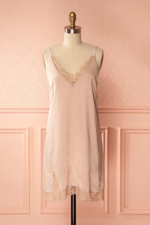 Pink dress to wear to a wedding  Sassica  Transparent dress Boudoir and Kimonos