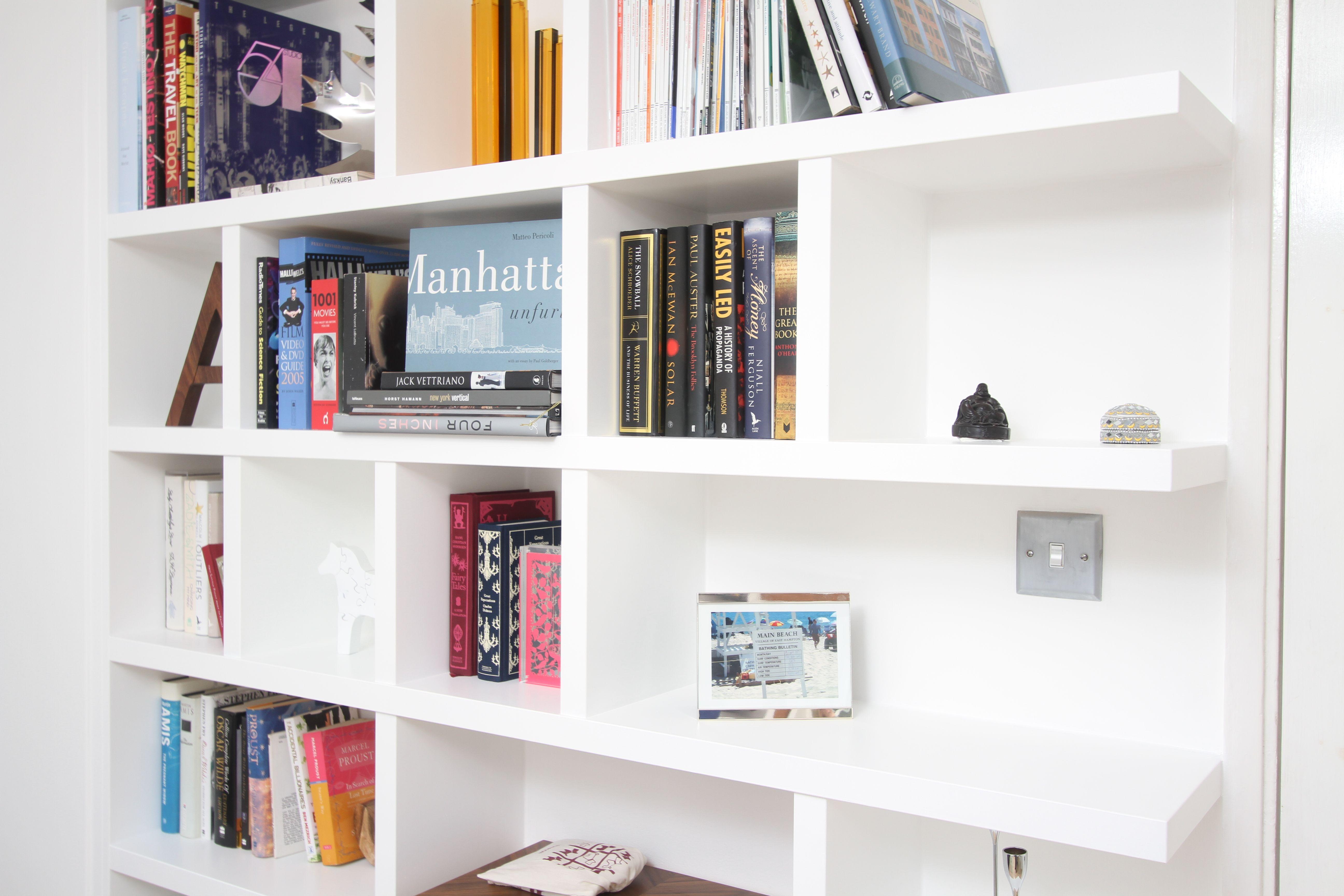 Shelves Shallow Bookshelves Bookcase For Hallway Library Wall Kids Interesting