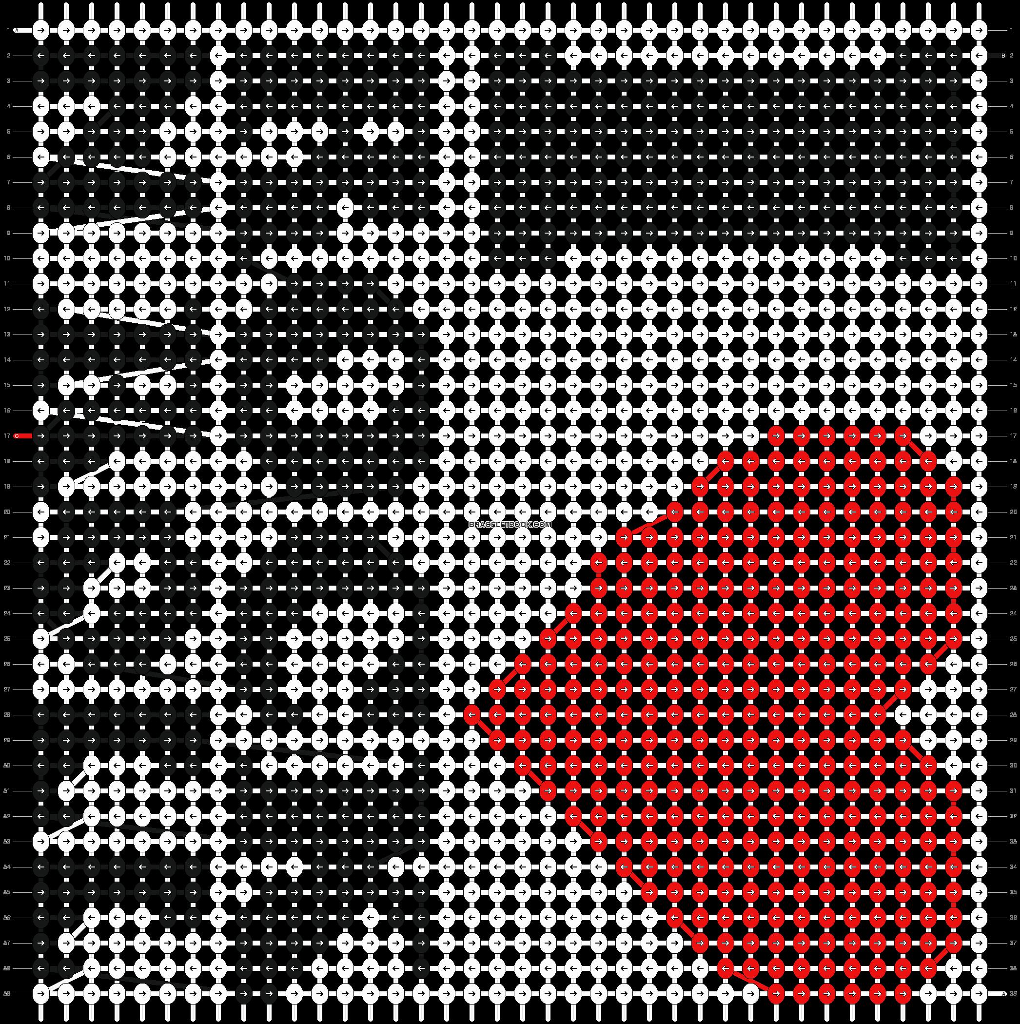 Alpha Pattern #7839 added by whitequeen | CROCHET | Pinterest