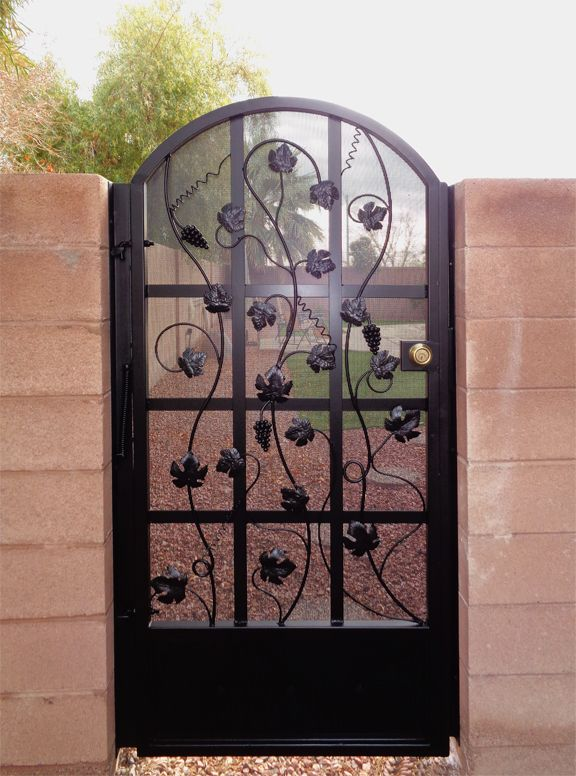 Single Gate Designs With Images Iron Gates Gate Design