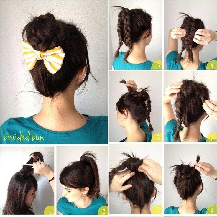 Stupendous 1000 Images About Step By Step Hairstyles On Pinterest Hair Short Hairstyles For Black Women Fulllsitofus