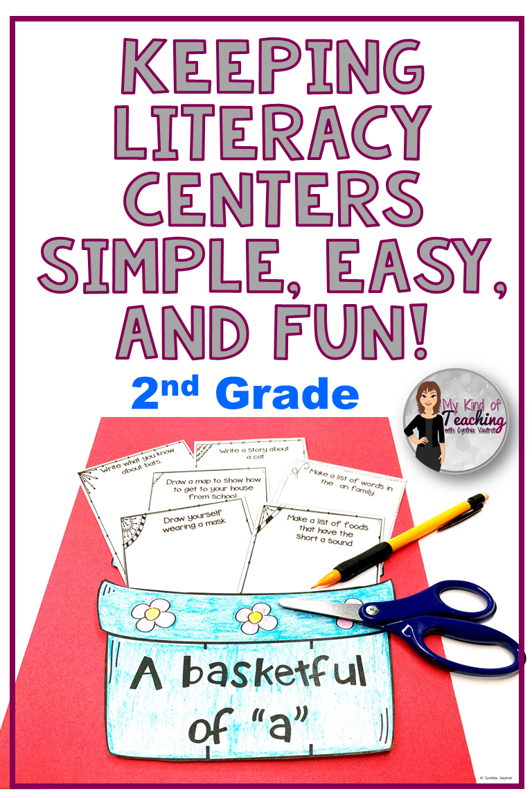 Photo of Literacy Center Ideas for 2nd Grade