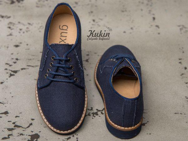 498bce77 zapatos-lino-azules calzado infantil - zapatos comunion niño - zapatos  ceremonia niño -