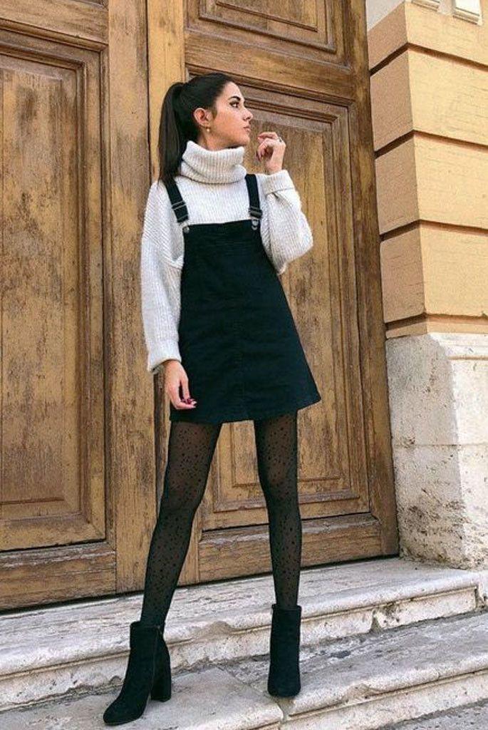 So tragen Sie Strumpfhosen im Winter: 26 Möglichkeiten, um Ihr Kleidungsstück an kalten Tagen zu aktualisieren   – Looks e Tendências ♡