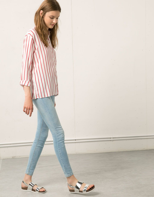 9f35e1bab64548 Bershka Jordan - Bershka skinny jeans