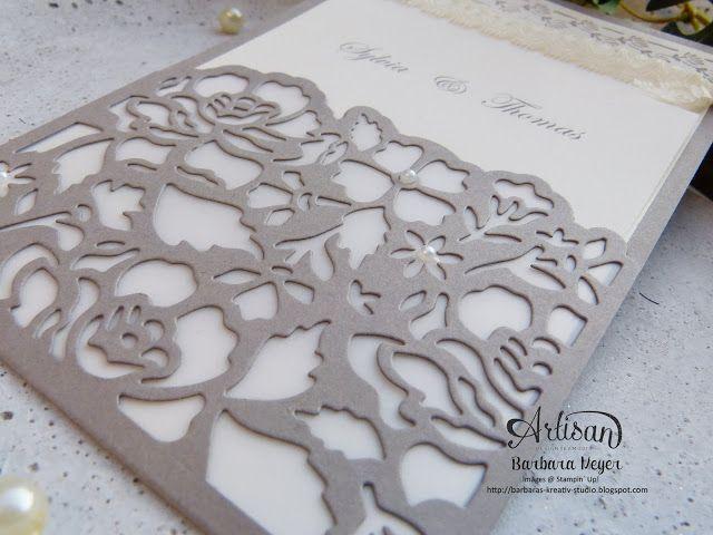 Stampinup österreich; Stampinup Wien; Hochzeitskarte Vintage; Einladung  Hochzeit; Stampinup Florale Grüße; Einladungskarte Hochzeit   Basteln    Pinterest ...