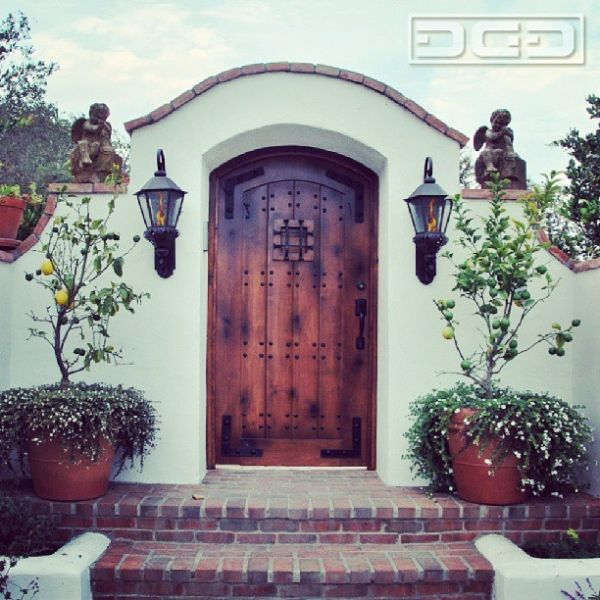 Spanish Style Entry Doors By Dynamic Garage Door In Los Angeles