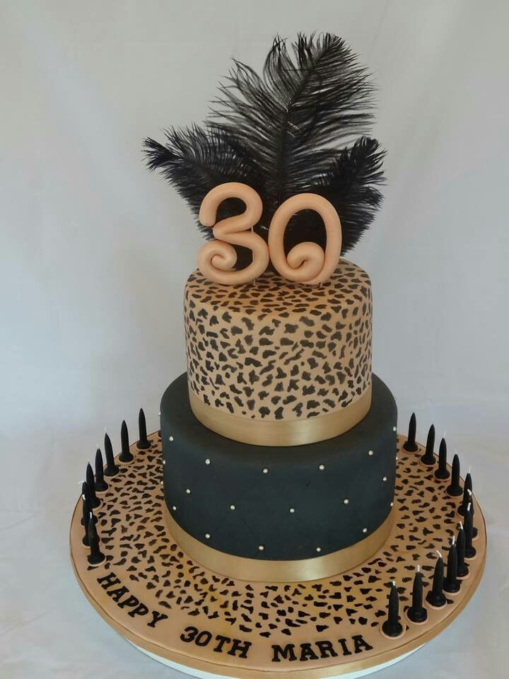 Animal print cake cakes cakes more cakes for Animal print edible cake decoration