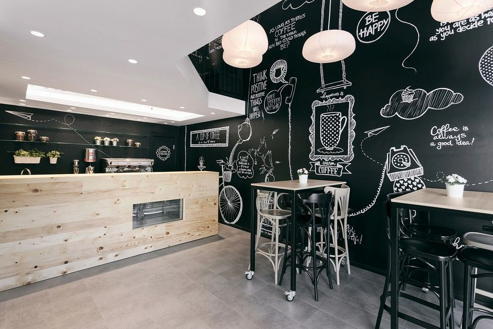 Coffee Shop Design Ideas 1000 images about cafe shop on pinterest coffee shop cafe shop design and cafe interior design Stock Coffee Project 4 Retail Space Converted Into Fresh Coffee Shop Design In Serbia Bakery Cafe Shop Pinterest Coffee Shop Design Fresh Coffee
