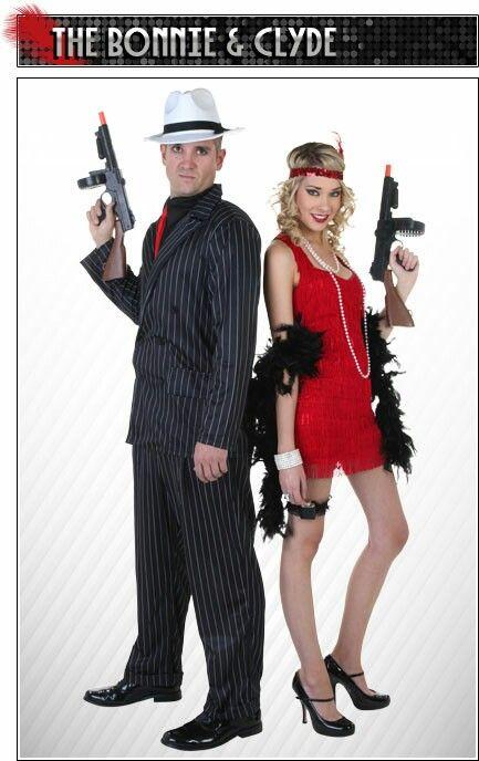 Bonnie and Clyde | Halloween ideas | Pinterest | Couple ...