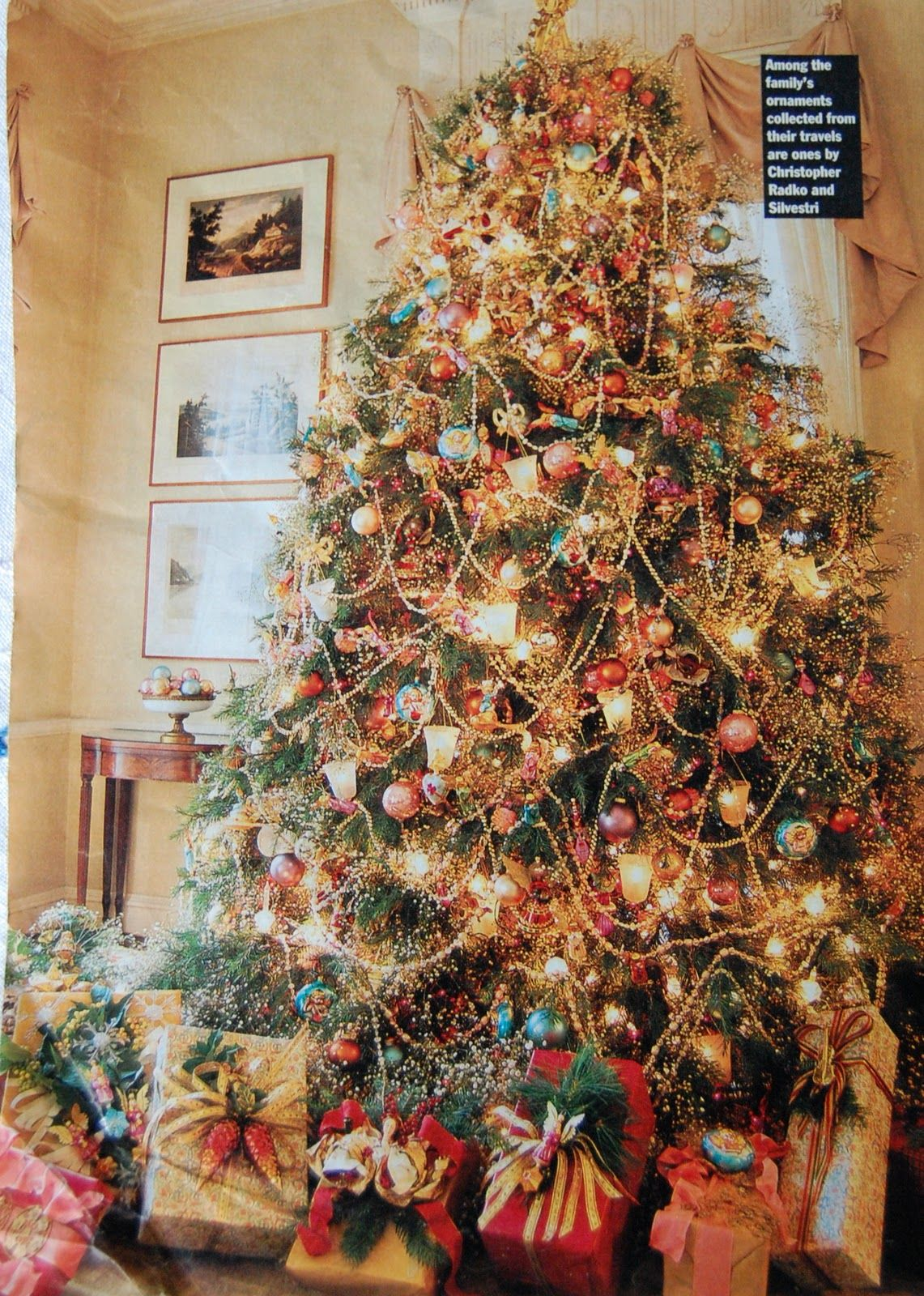 A victorian christmas tree angie this is what you agreed