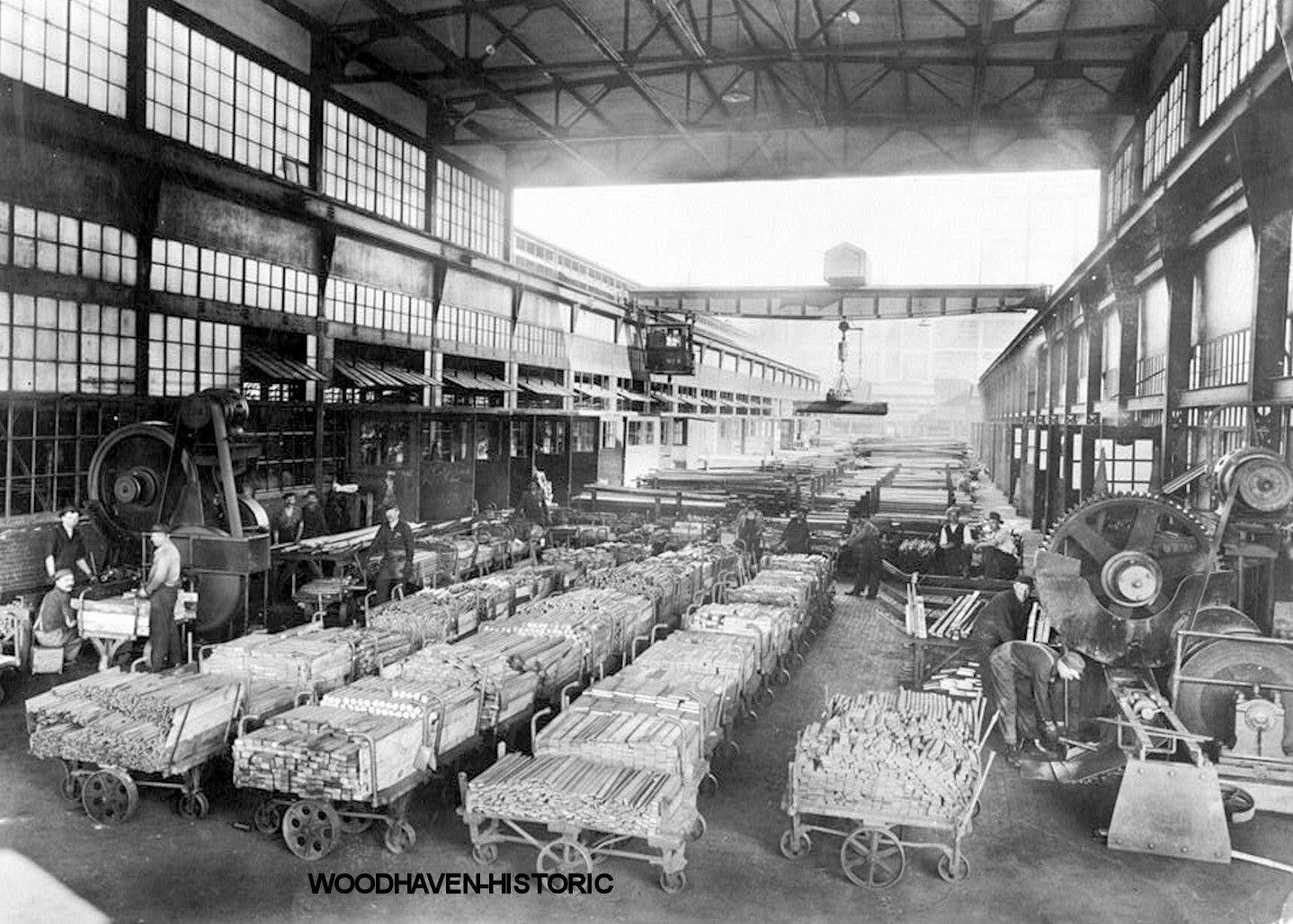 Dodge Motor Plant Dodge Main Hamtramck Mi 1915 Photo 306