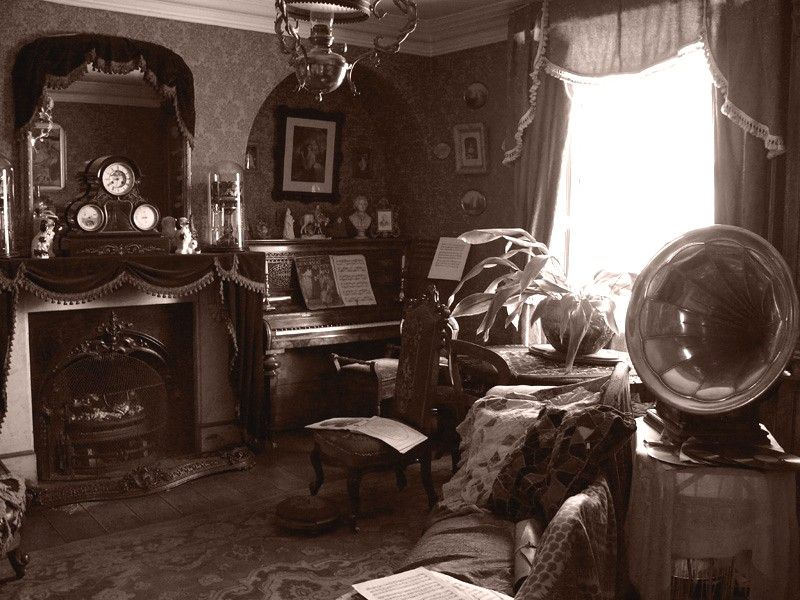 Image result for victorian parlour piano