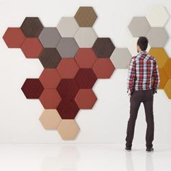 Decorative Acoustic Tiles Besides Being A Decorative Panel Honeycomb Has An Acoustical
