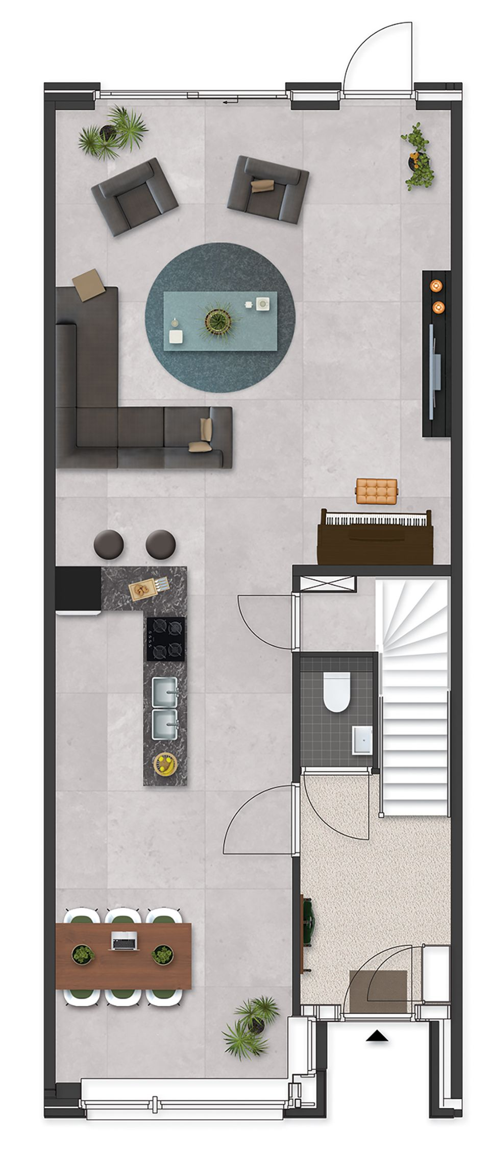 kadewoning  room planning loft ideas small house plans also plan rh pinterest