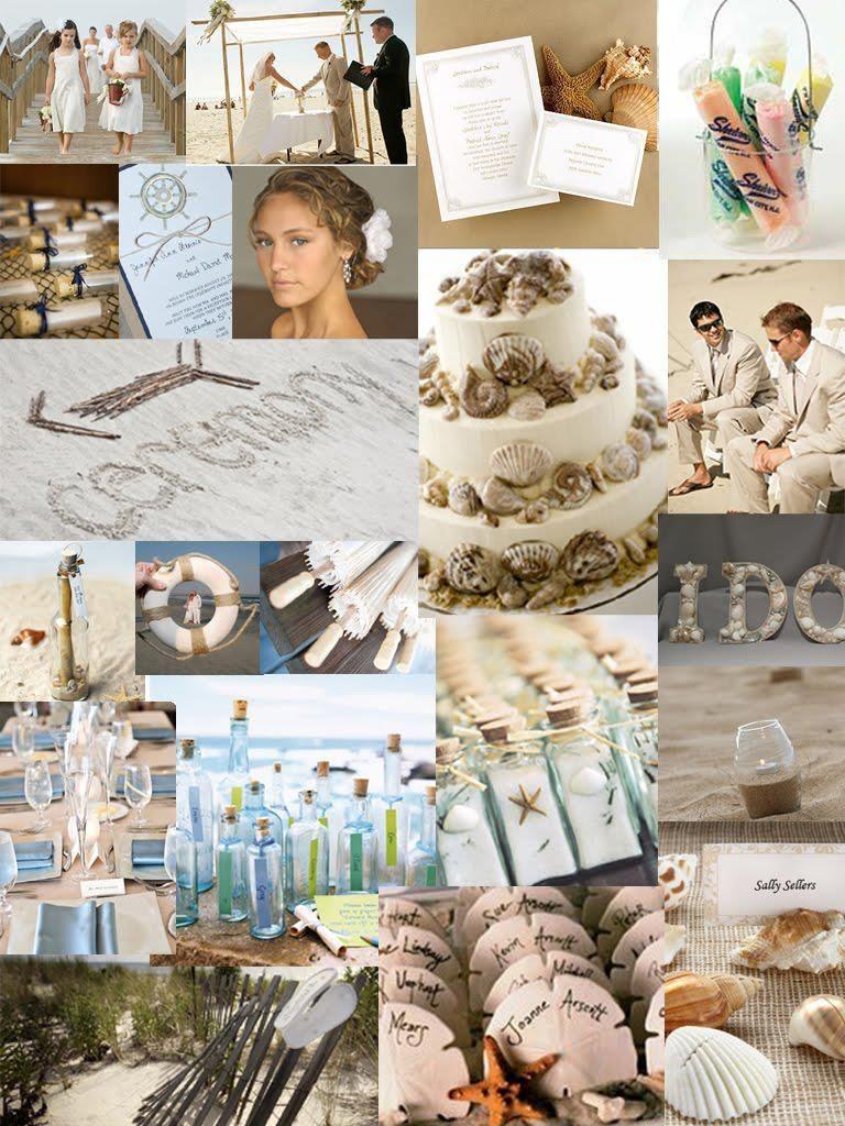 Beach themed wedding - From Facebook | Weddings | Pinterest | Beach ...
