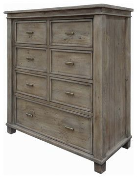 Settler 7 Drawer Chest Cabinet   Traditional   Dressers Chests And Bedroom  Armoires   Masins Furniture
