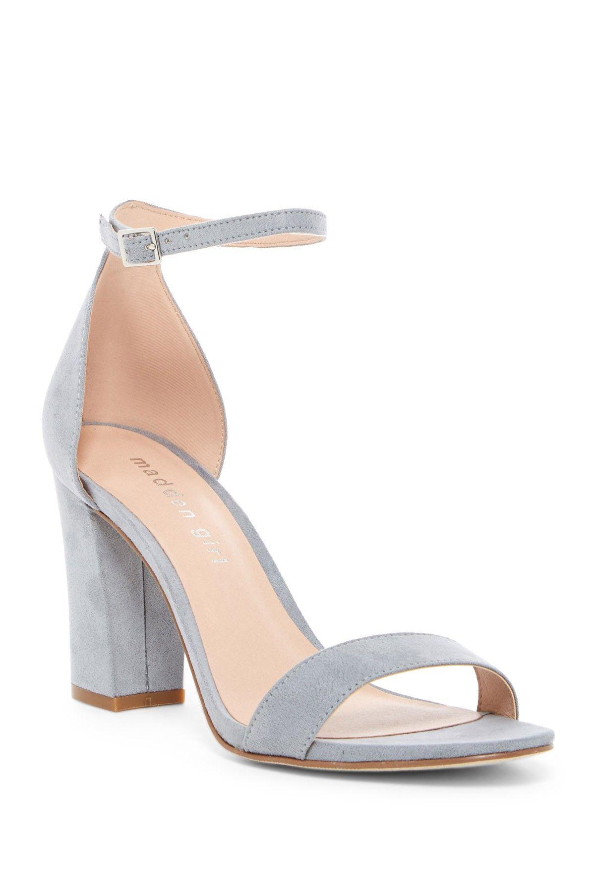 70835869a36 Beella Block Heel Sandal Blue Sandals