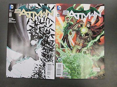 2x #batman #44; #green lantern 75 variant scott #snyder jock dc comics 1st print,  View more on the LINK: http://www.zeppy.io/product/gb/2/282044273032/