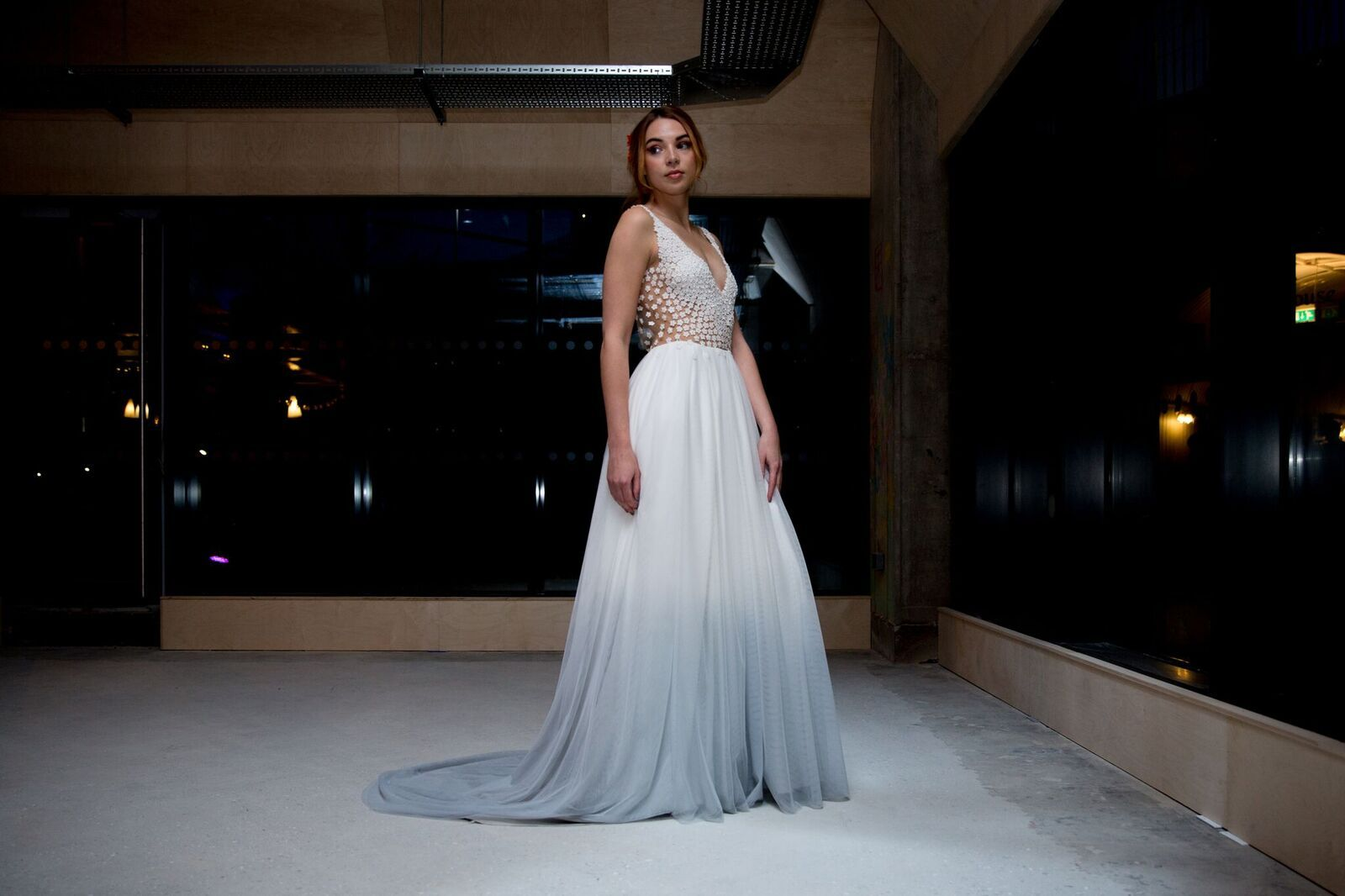 3e7ebc0ae4a646 Dip dye coloured wedding dress Heart of Glass by Lucy Can't Dance available  at RTF Berkshire |Boho Wedding Dresses | Bridal Boutique | Essex, London,  ...