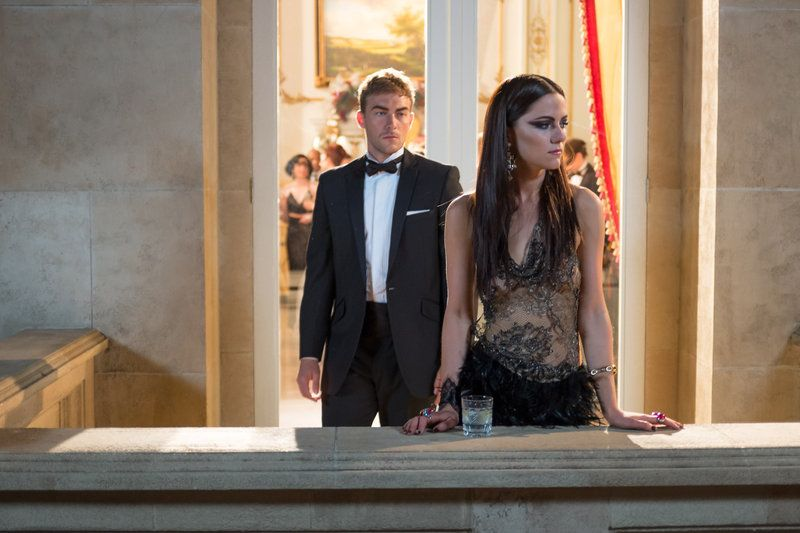 Admiring her from afar. Jasper and Princess Eleanor The Royals- Unmask Her Beauty to the Moon