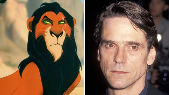 12 stars who look just like the characters they voice