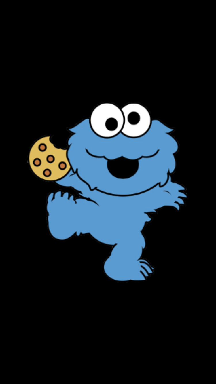 Pin By Olivia On Wallpapers Wallpaper Iphone Cute Cookie Monster Wallpaper Elmo Wallpaper
